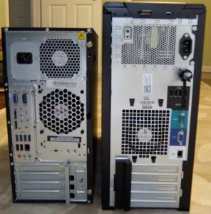 TS140 vs T110II Rear